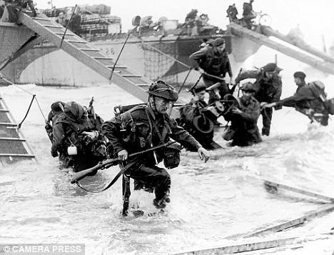 Emlyn John (Dowty Rotol) landing in Normandy June 5 1944 | Daily Mail
