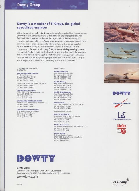 A World of Airframe Systems and Components   Original photo in the Dowty archive at the Gloucestershire Heritage Hub