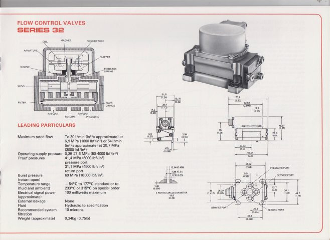 Dowty Boulton Paul - Servo Valves Brochure | Original photo in the Dowty archive at the Gloucestershire Heritage Hub