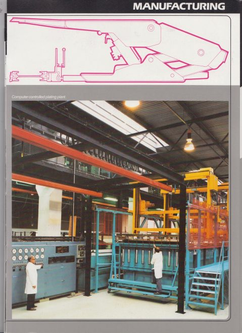 Dowty Mining Equipment - Brochure of Company and Products | Original photo in the Dowty archive at the Gloucestershire Heritage Hub