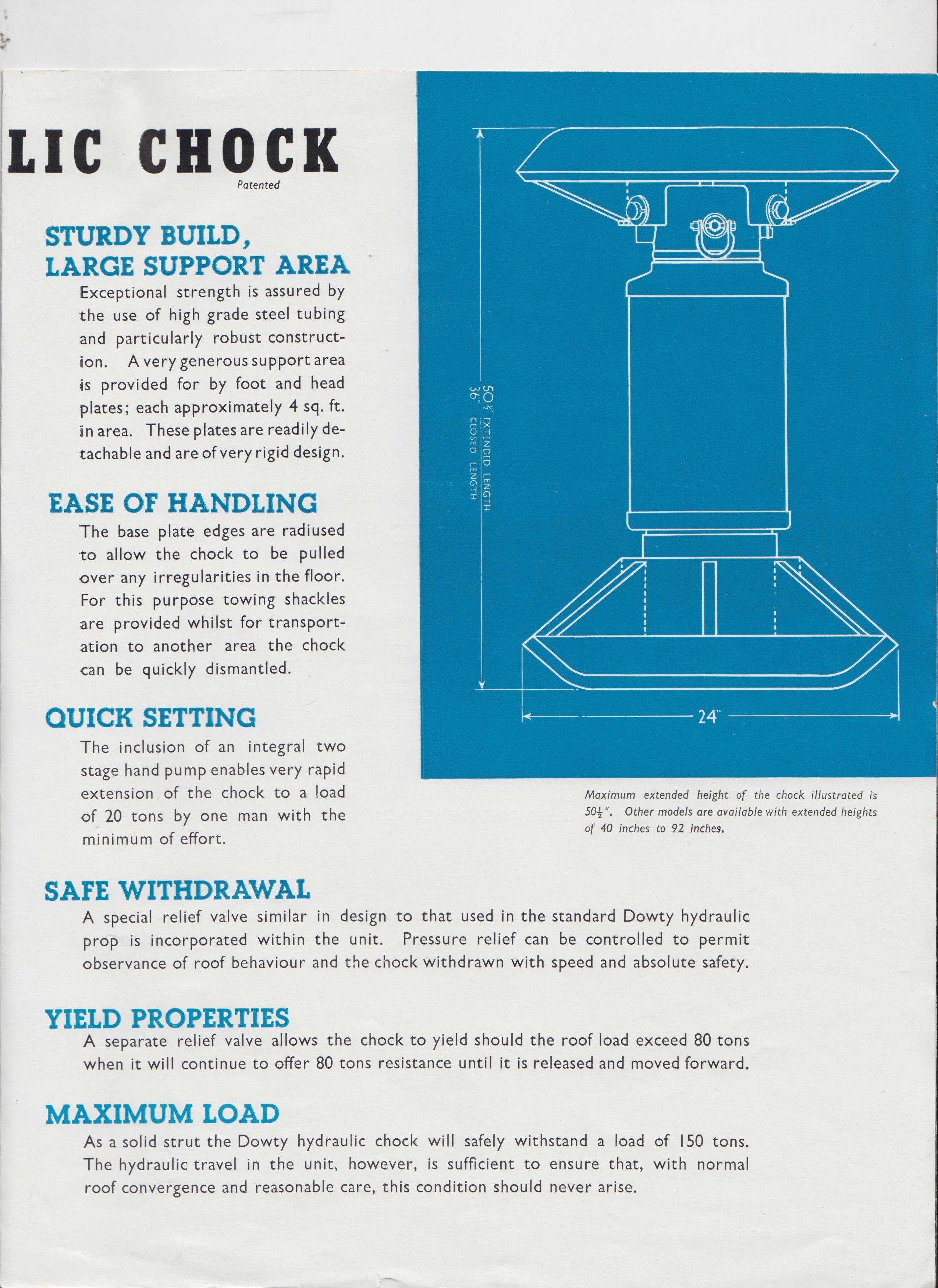 80 Ton Hydraulic Chock | New contributions, Dowty Mining Equipment