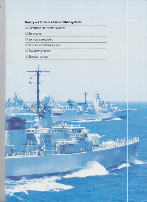 Dowty Maritime Systems - Brochure | Original photo in the Dowty archive at the Gloucestershire Heritage Hub