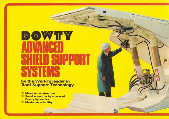 Advanced Shield Support Systems | Original photo in the Dowty archive at the Gloucestershire Heritage Hub