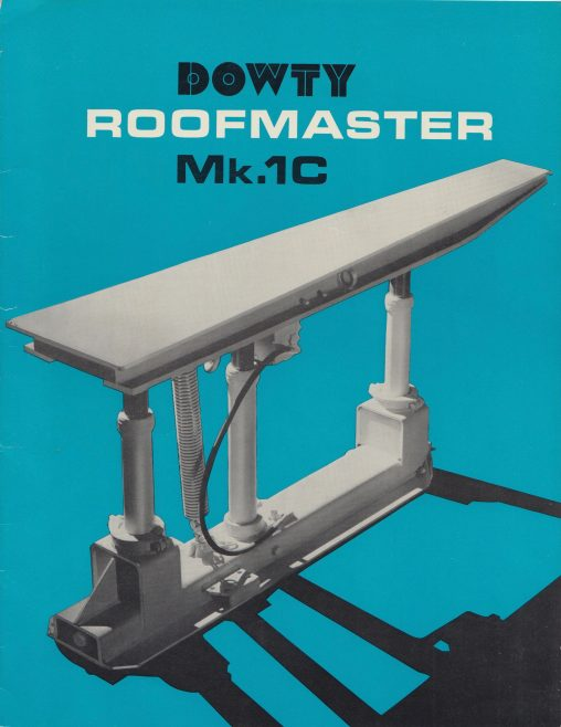 Roofmaster Mk.1 C | Original photo in the Dowty archive at the Gloucestershire Heritage Hub