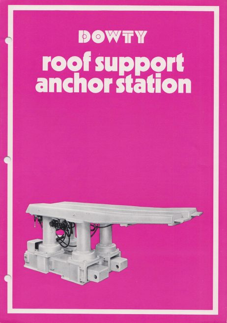Roof Support Anchor Station | Original photo in the Dowty archive at the Gloucestershire Heritage Hub