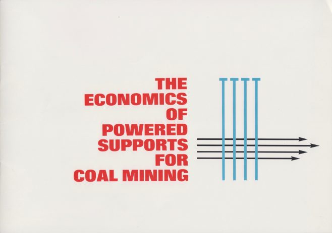 The Economics of Powered Supports for Coal Mining | Original photo in the Dowty archive at the Gloucestershire Heritage Hub