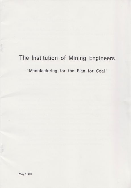 The Institution of Mining Engineers -