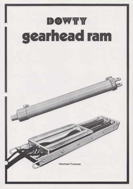 Gearhead Ram | Original photo in the Dowty archive at the Gloucestershire Heritage Hub