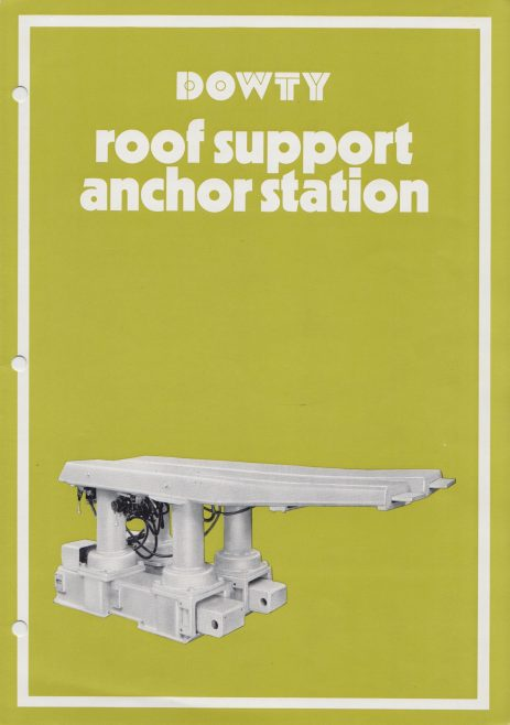 Roof Support and Anchor Station | Original photo in the Dowty archive at the Gloucestershire Heritage Hub