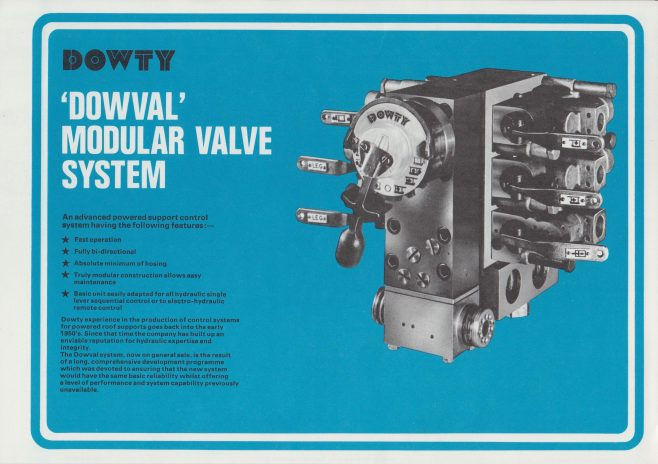 Dowval Electro-Hydraulic Control System | Original photo in the Dowty archive at the Gloucestershire Heritage Hub