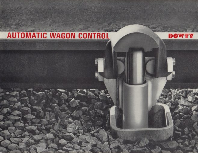 Automatic Wagon Control | Original photo in the Dowty archive at the Gloucestershire Heritage Hub