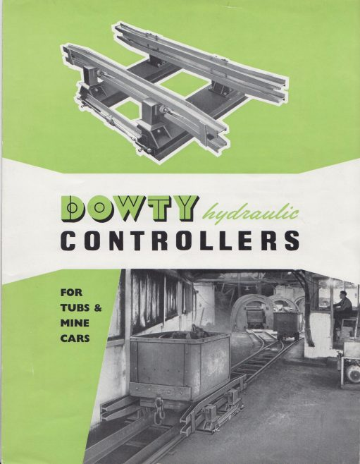 Dowty Mining Equipment - Hydraulic Controllers   Original photo in the Dowty archive at the Gloucestershire Heritage Hub