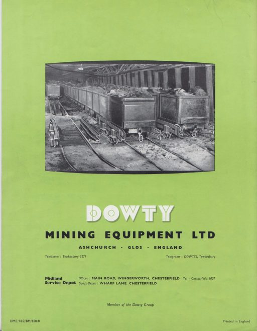 Dowty Mining Equipment - Hydraulic Controllers | Original photo in the Dowty archive at the Gloucestershire Heritage Hub