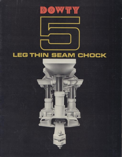 5-Leg Thin Seam Chock | Original photo in the Dowty archive at the Gloucestershire Heritage Hub