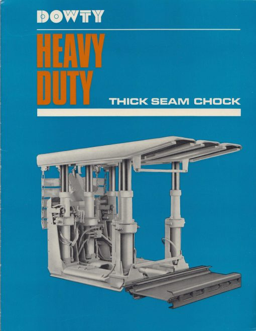 Heavy Duty Thick Seam Chock | Original photo in the Dowty archive at the Gloucestershire Heritage Hub