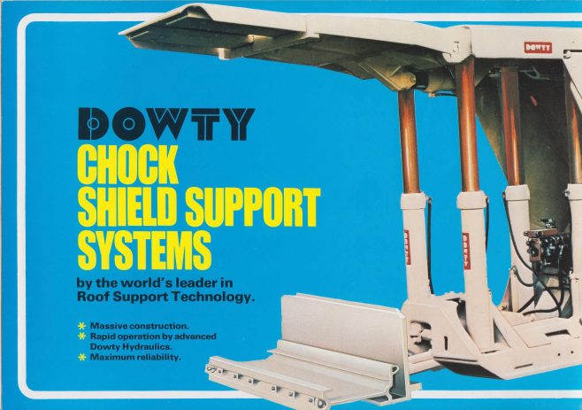 Chock Shield Support Systems | Original photo in the Dowty archive at the Gloucestershire Heritage Hub