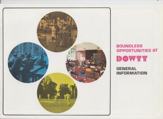 Dowty Group - Boundless Opportunities at Dowty | Original photo in the Dowty archive at the Gloucestershire Heritage Hub