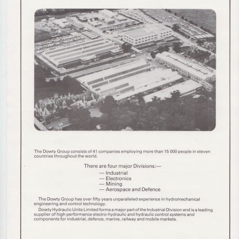 Dowty Group - Publication | Original photo in the Dowty archive at the Gloucestershire Heritage Hub