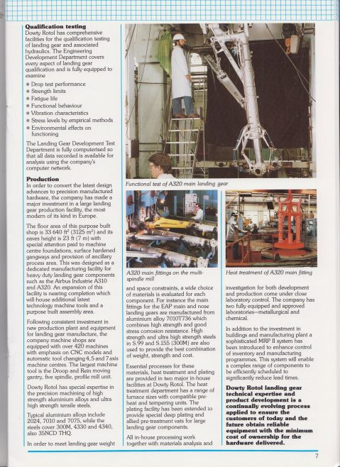 Dowty Group - Dowty Today Issue 3 1988 | Original photo in the Dowty archive at the Gloucestershire Heritage Hub