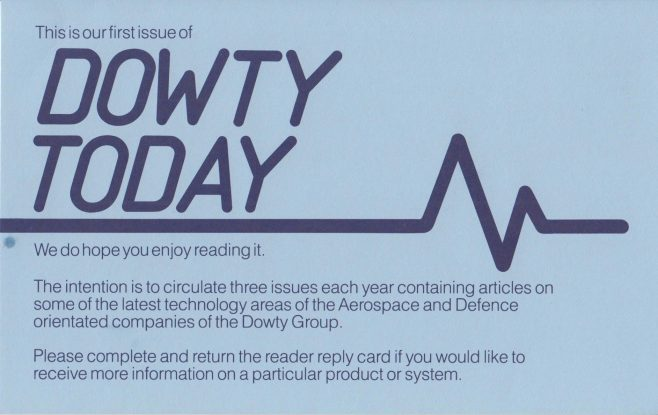 Dowty Group - Dowty Today 1986 | Original photo in the Dowty archive at the Gloucestershire Heritage Hub