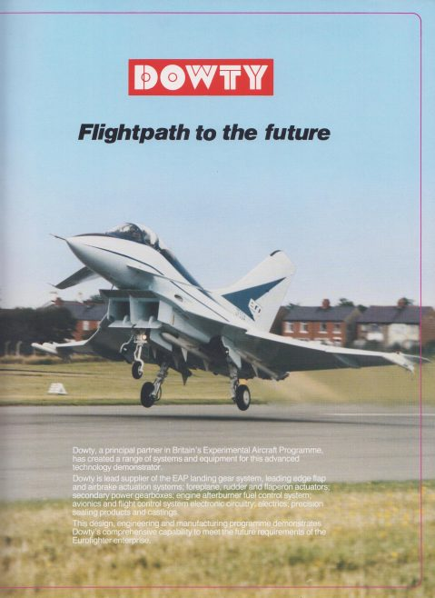 Dowty Aerospace - Aerospace & Defence Equipment, Flightpath to the Future | Original photo in the Dowty archive at the Gloucestershire Heritage Hub