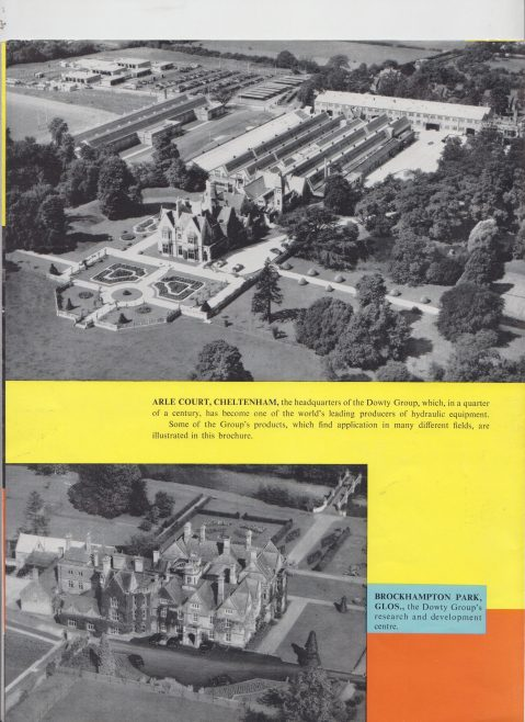 Dowty Group - Leading in Creative Engineering | Original photo in the Dowty archive at the Gloucestershire Heritage Hub