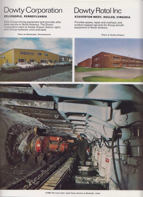 Dowty Group - US Product Brochure | Original photo in the Dowty archive at the Gloucestershire Heritage Hub