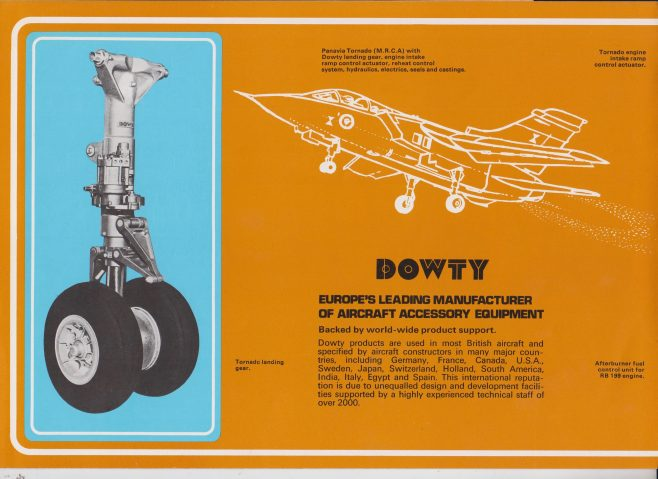 Dowty Group - Leaders in Total Systems Capability | Original photo in the Dowty archive at the Gloucestershire Heritage Hub