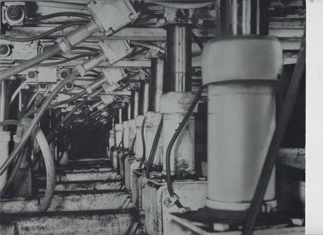 Dowty Mining Equipment - The Miracle of Mechanisation in the Coal Mines | Original photo in the Dowty archive at the Gloucestershire Heritage Hub