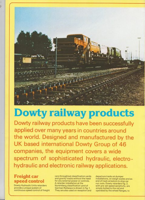 Dowty Group - Railway Products | Original photo in the Dowty archive at the Gloucestershire Heritage Hub