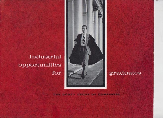 Dowty Group - Industrial Opportunities for Graduates | Original photo in the Dowty archive at the Gloucestershire Heritage Hub