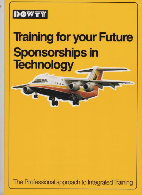 Dowty Group Services - Training for the Future Sponsorships in Technology | Original photo in the Dowty archive at the Gloucestershire Heritage Hub