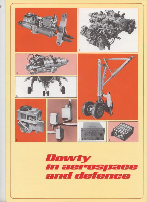Dowty Aerospace - In Aerospace and Defence | Original photo in the Dowty archive at the Gloucestershire Heritage Hub