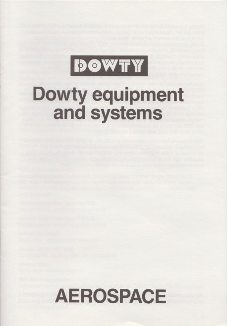 Dowty Aerospace - Equipment and Systems | Original photo in the Dowty archive at the Gloucestershire Heritage Hub