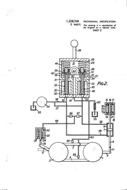 Dowty Hydraulic Units Patent - Hydraulic Apparatus | Original photo in the Dowty archive at the Gloucestershire Heritage Hub