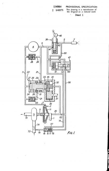 Dowty Fuel Systems Patent - Liquid Pumping Apparatus for Supplying Fuel to a Gas Turbine Engine | Original photo in the Dowty archive at the Gloucestershire Heritage Hub