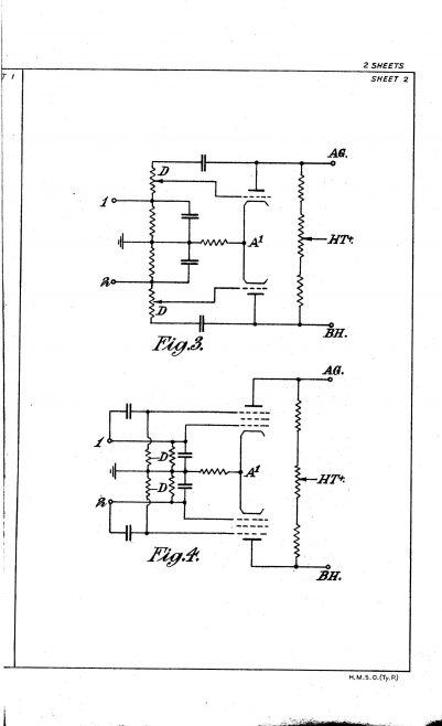 Ultra Electric Patent Specification 1947 - Improvements in and Relating to Speed Control Apparatus | Original photo in the Dowty archive at the Gloucestershire Heritage Hub