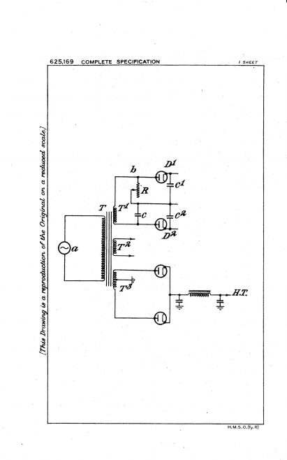 Ultra Electric Patent Specification 1947 - Improvements in and Relating to Speed Control Apparatus (625.169) | Original photo in the Dowty archive at the Gloucestershire Heritage Hub