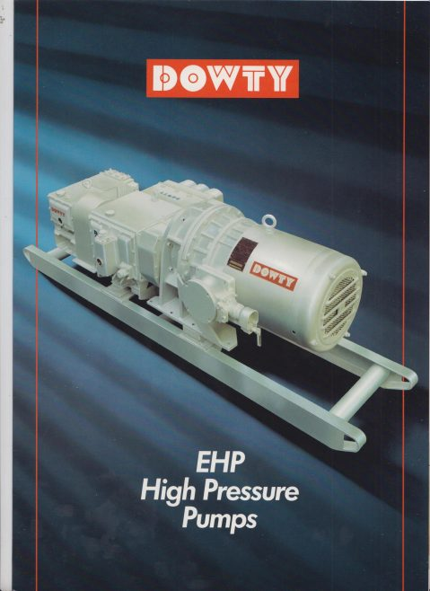Dowty EHP High Pressure Pumps | Original photo in the Dowty archive at the Gloucestershire Heritage Hub