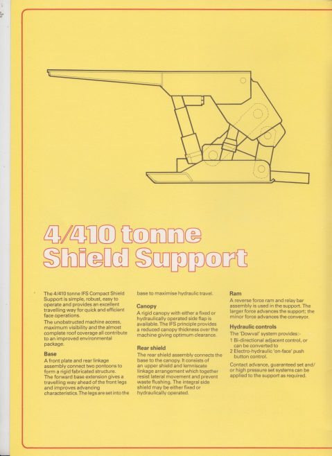 4/410 Tonne Shield Support | Original photo in the Dowty archive at the Gloucestershire Heritage Hub