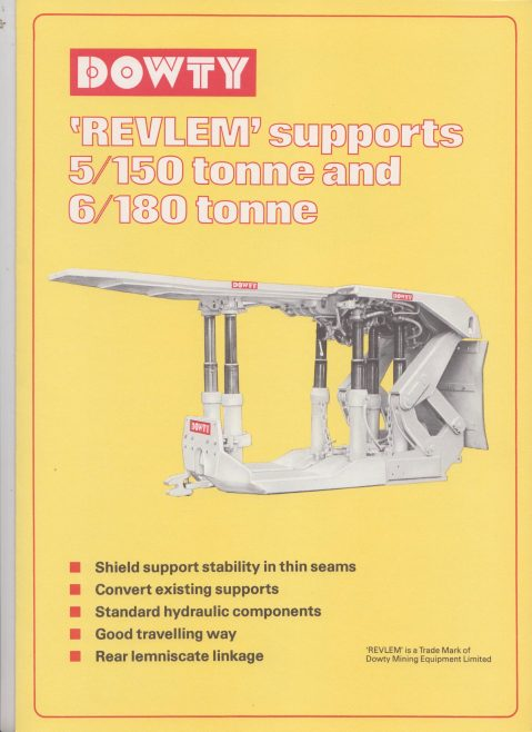 Revlem Supports 5/150 Tonne & 6/180 Tonne  | Original photo in the Dowty archive at the Gloucestershire Heritage Hub