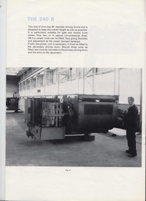 Dowty Meco - 240B & 360B Belt Conveyor Drives | Original photo in the Dowty archive at the Gloucestershire Heritage Hub