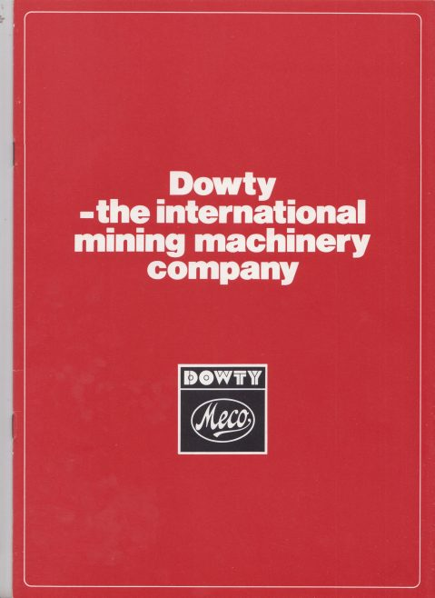 Dowty Meco - The International Mining Machinery Company | Original photo in the Dowty archive at the Gloucestershire Heritage Hub
