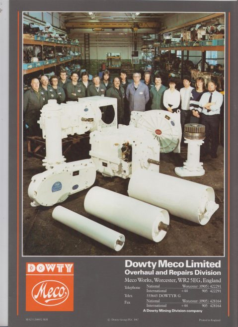 Dowty Meco - Overhaul and Repairs Division | Original photo in the Dowty archive at the Gloucestershire Heritage Hub