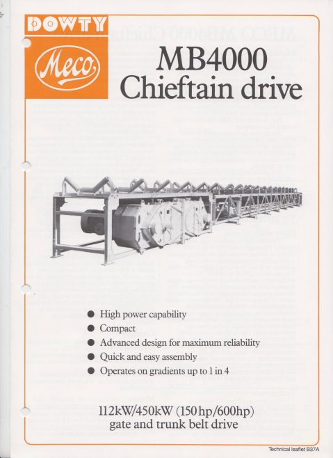 Dowty Meco - MB4000 Chieftain Drive | Original photo in the Dowty archive at the Gloucestershire Heritage Hub