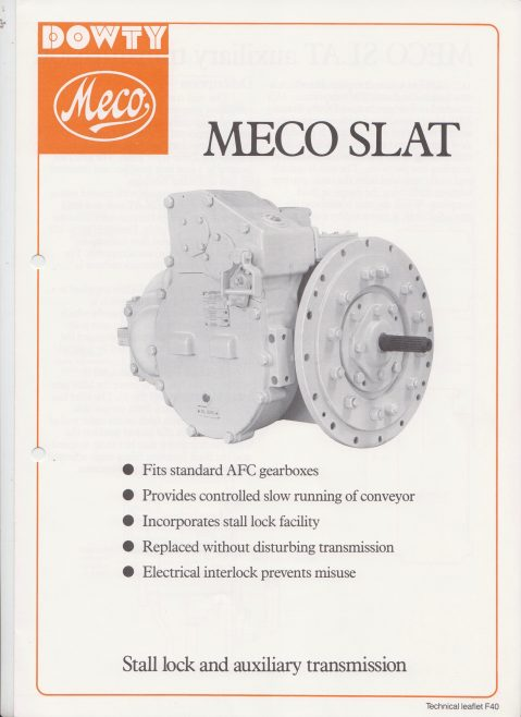 Dowty Meco - Meco Slat Stall Lock and Auxiliary Transmission | Original photo in the Dowty archive at the Gloucestershire Heritage Hub