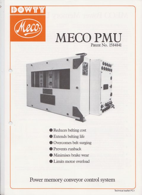 Dowty Meco - Meco PMU Power Memory Conveyor Control System | Original photo in the Dowty archive at the Gloucestershire Heritage Hub