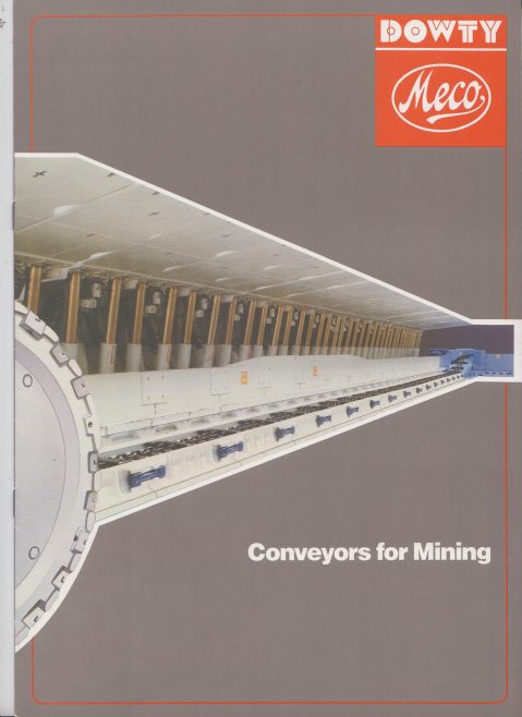Conveyors for Mining | Original photo in the Dowty archive at the Gloucestershire Heritage Hub