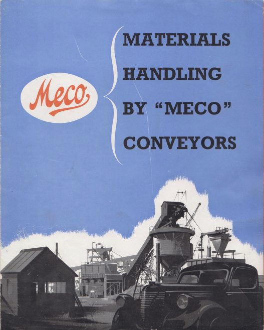 Materials Handling by Meco Conveyors | Original photo in the Dowty archive at the Gloucestershire Heritage Hub