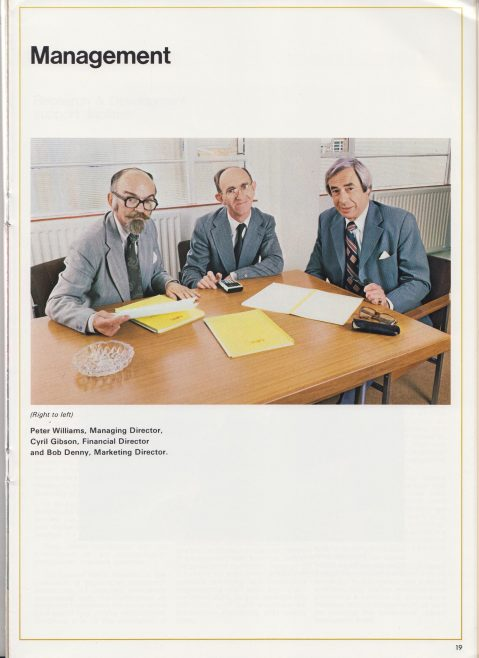 Ultra Electronics Communications Ltd - Company Profile | Original photo in the Dowty archive at the Gloucestershire Heritage Hub
